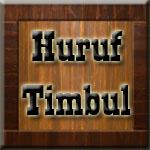 Huruf Timbul